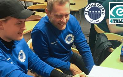 FS Holstebro og eye4TALENT i samarbejde om talentudviklingen